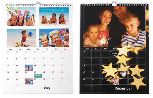 calendriers mural tictacphoto connections. Black Bedroom Furniture Sets. Home Design Ideas